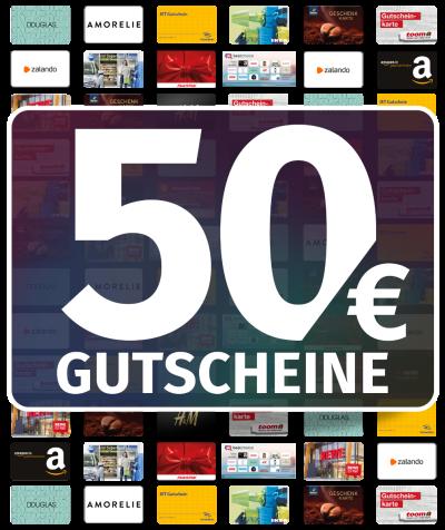 GUTSCHEINE 50 EUR