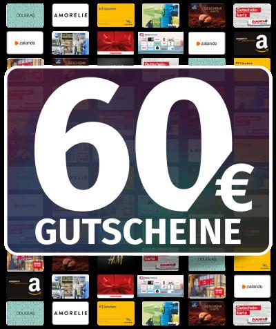 GUTSCHEINE 60 EUR