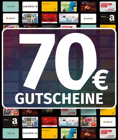 GUTSCHEINE 70 EUR