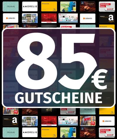 GUTSCHEINE 85 EUR