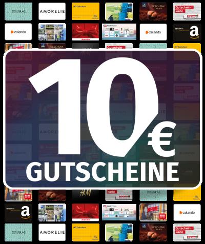 GUTSCHEINE 10 EUR
