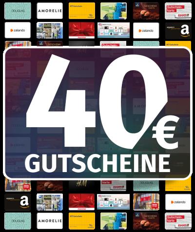 GUTSCHEINE 40 EUR