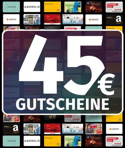 GUTSCHEINE 45 EUR