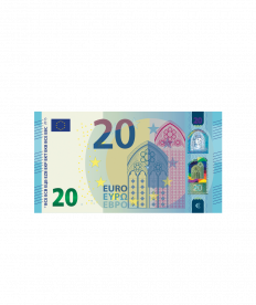 Barprämie (Wert 20 Euro)