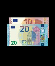 Verrechnungsscheck 30 EURO