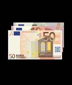 Barprämie (Wert 65 Euro)