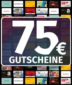 GUTSCHEINE 75 EUR