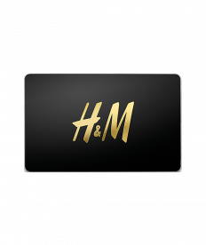 H&M Gutschein 25,00 Euro