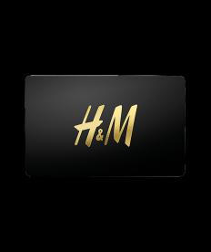 H&M Gutschein 85,00 Euro