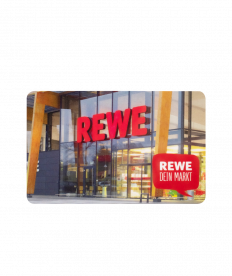 REWE Gutschein 55 EUR