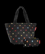 Reisenthel Set Shopper M+Multicase,dots